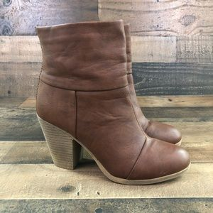 Kohl's SO pacey cognac boots 10